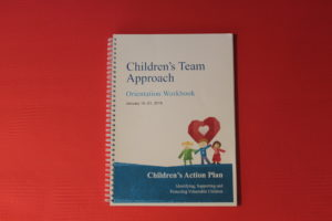 Children's action plan booklet